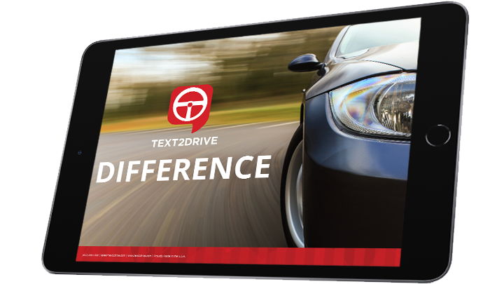 The TEXT2DRIVE<sup>TM</sup> Difference