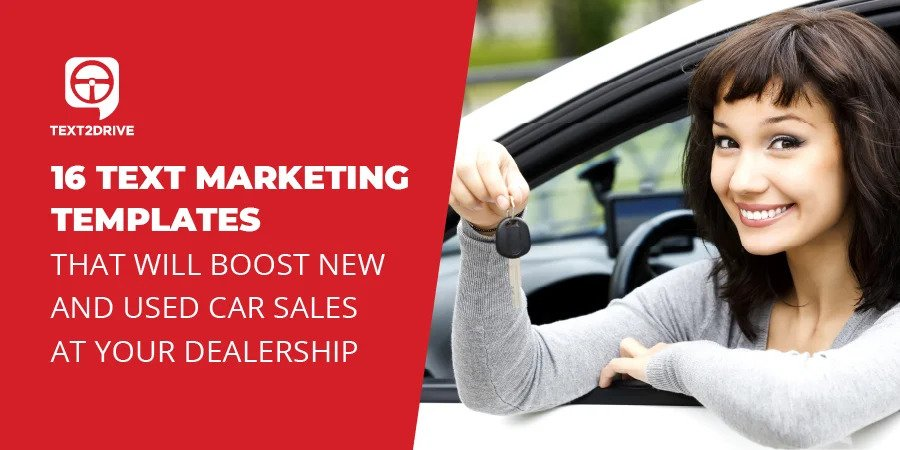 Text Message Templates That Drive Vehicle Sales
